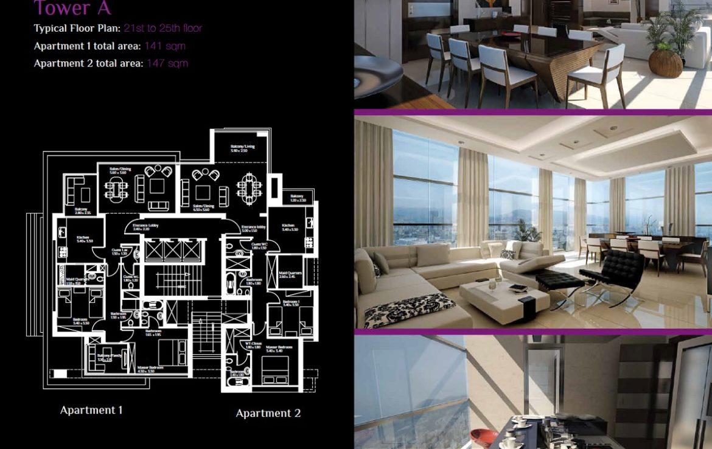 achrafieh-apartment-173-tower