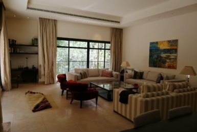 A Furnished 387 M2 Apartment With Terrace For Rent In Gemayzeh